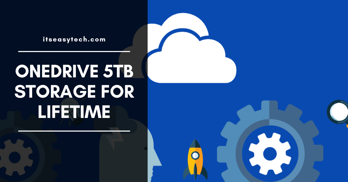 Onedrive 5TB storage for Free