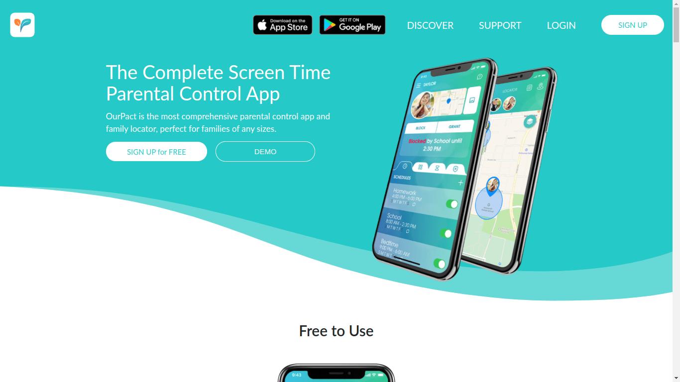 OurPact Parental Control App