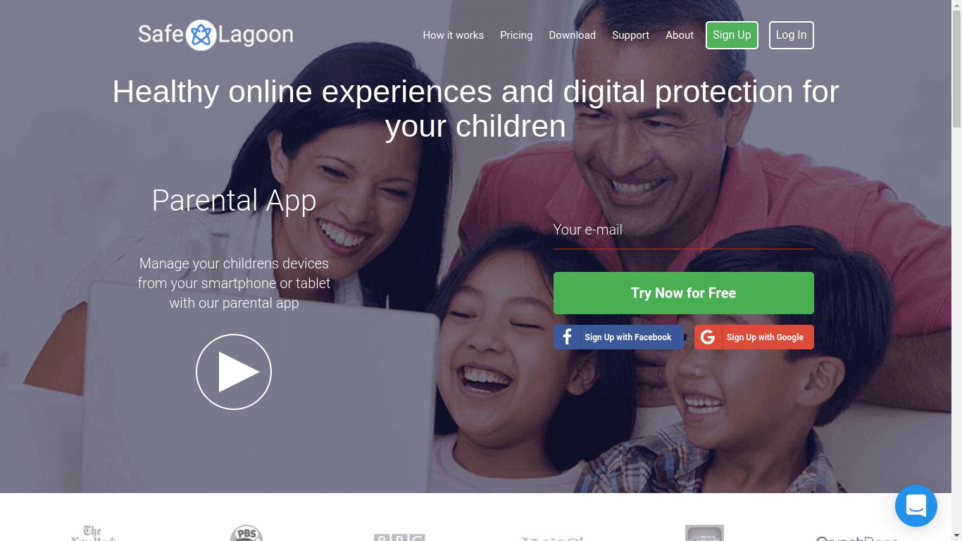 Safe Lagoon Parental Control App