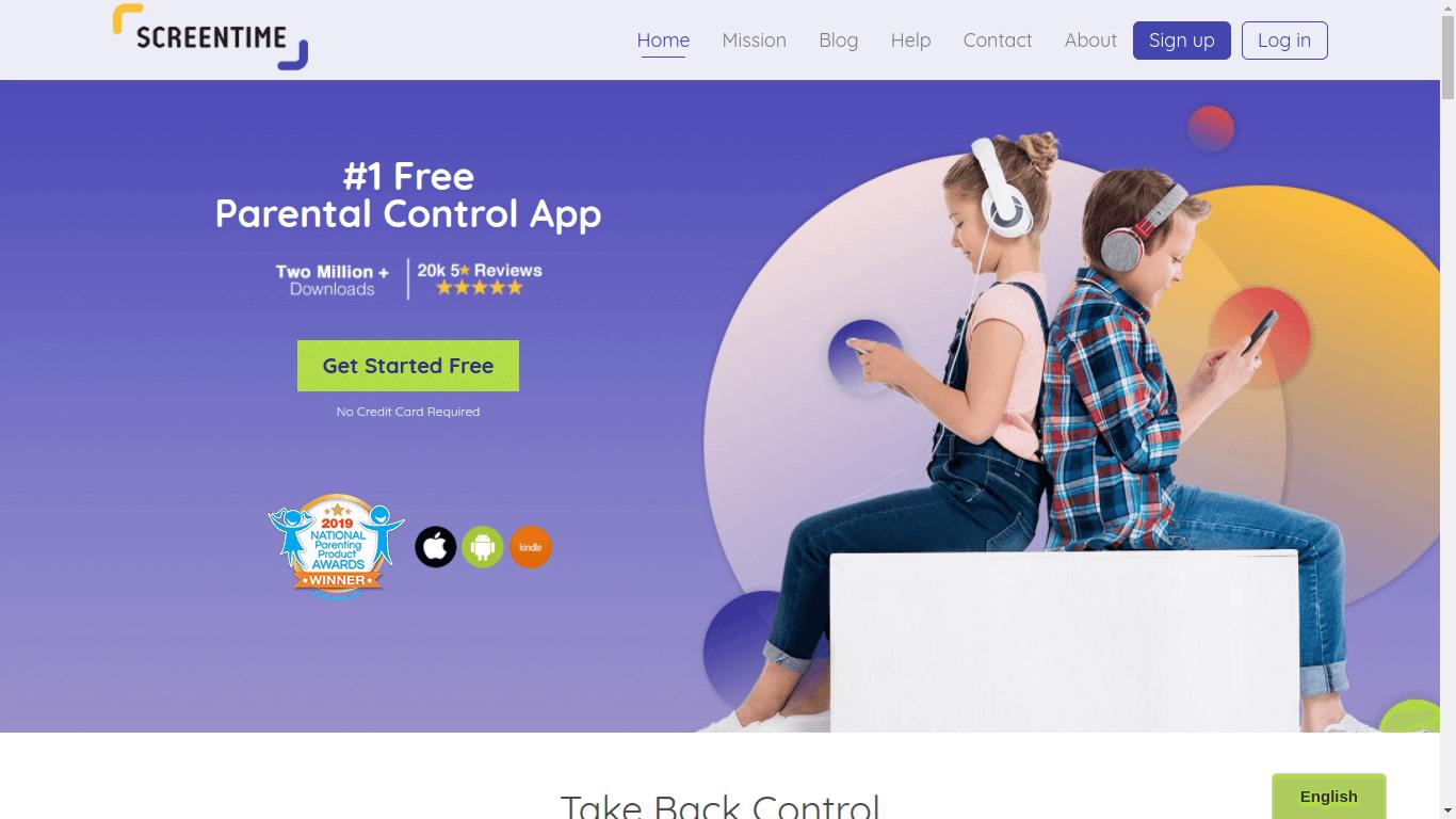 ScreenTime Parental Control App