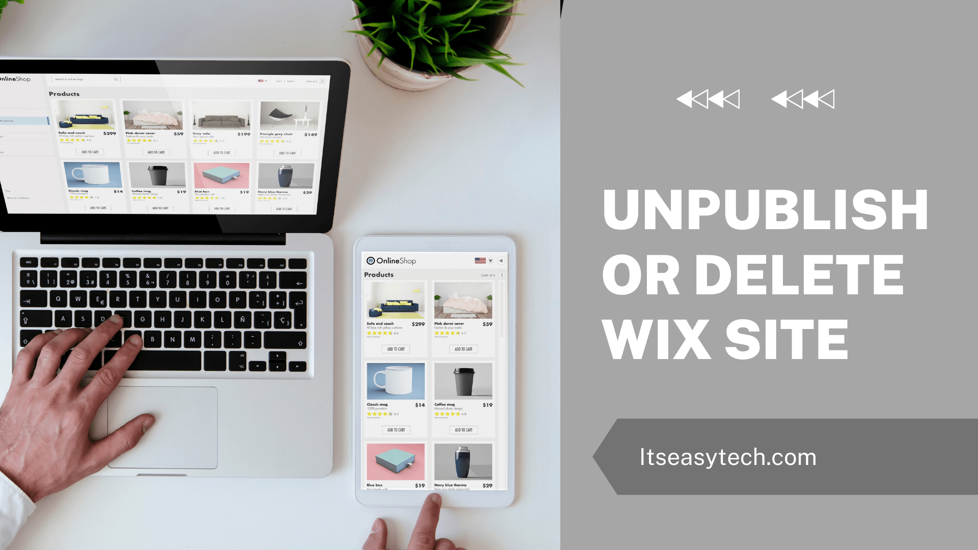 How To Unpublish a WIx Site